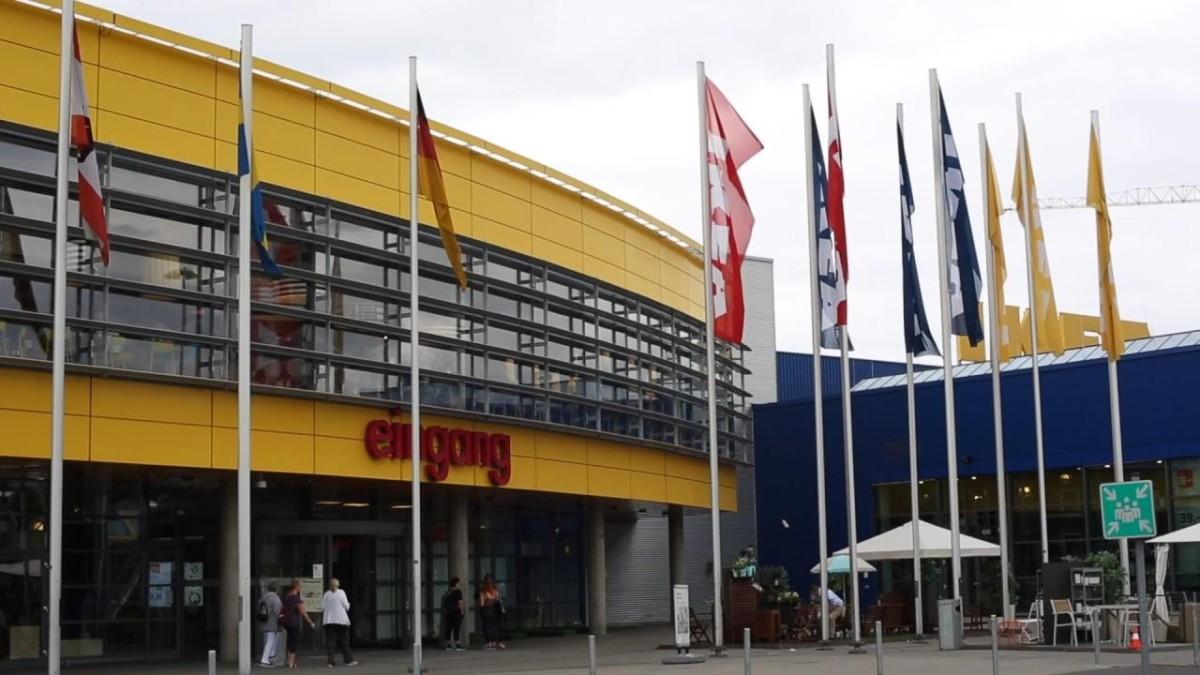 möbelhaus - vor 60 jahren eröffnete in der schwedischen provinz der