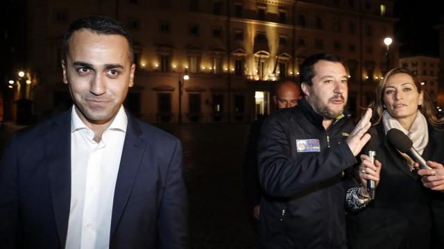 Luigi Di Maio und Matteo Salvini