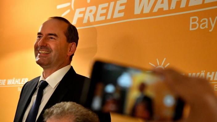 Hubert Aiwanger auf dem Landesparteitag der Freien Wähler in Regensburg