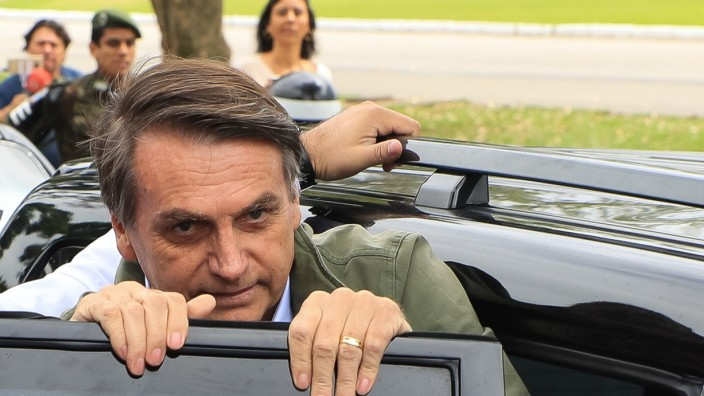 EUROPEAN BEST PICTURES OF THE DAY, 28TH OCTOBER - Brazilian Presidential Candidate Jair Bolsonaro Votes In Country's Election