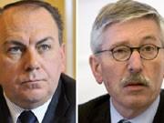 Axel Weber, Thilo Sarrazin, Bundesbank, Foto: dpa