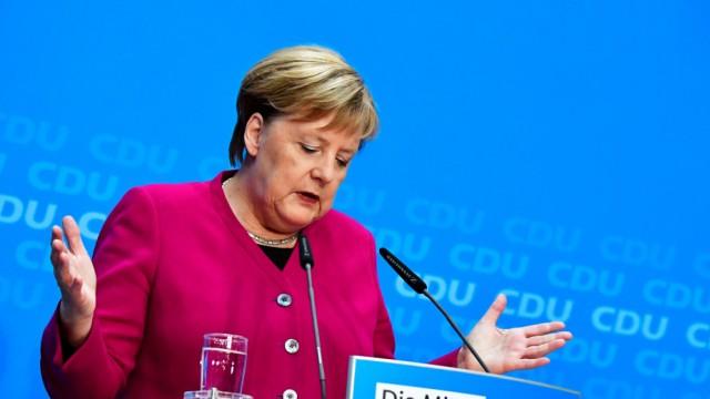 Politik CDU Merkels Rückzug