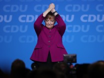 FILE - Germany's Chancellor Angela Merkel Announces She Will Step Down As Chancellor In 2021 After Recent Election Setbacks CDU Holds Party Congress, Elects General Secretary