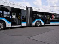 MVG testet Elektrobus für München, 2017