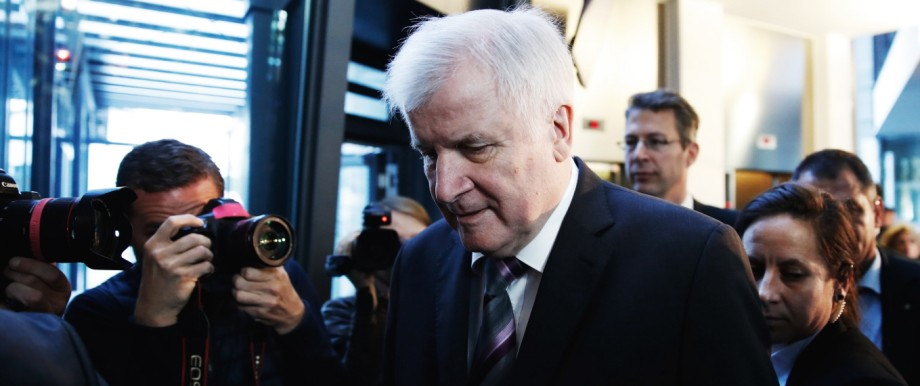 CSU-Chef Horst Seehofer in München