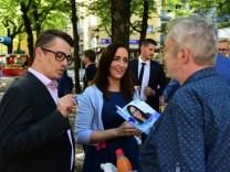CSU-Politikerin Tina Pickert in München