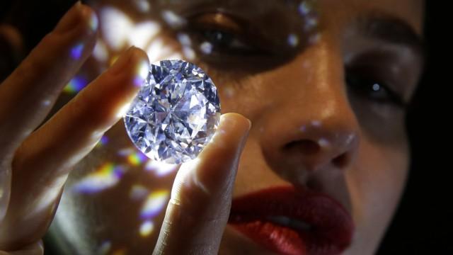 Diamant Auktion in London