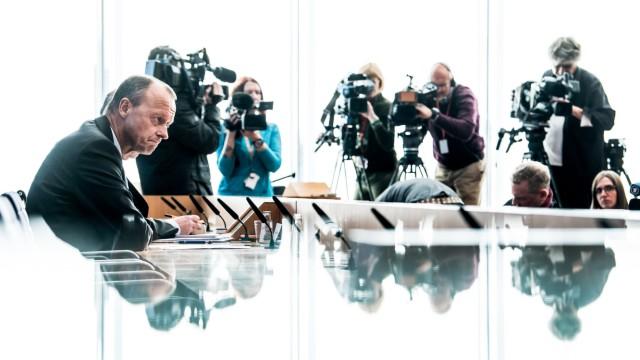 Pressekonferenz Friedrich Merz
