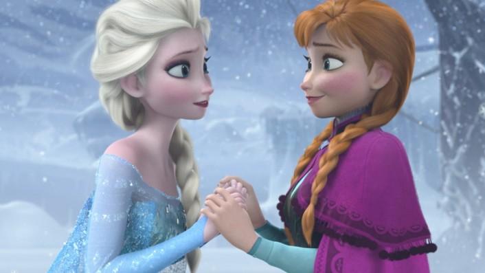 Hype Um Die Eiskönigin Die Anna Und Elsa Formel Kultur