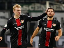 DFB Cup Second Round - Borussia Moenchengladbach v Bayer Leverkusen