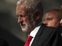 Labour-Parteichef Jeremy Corbin