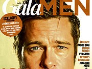 gala men brad pitt drei neue männermagazine