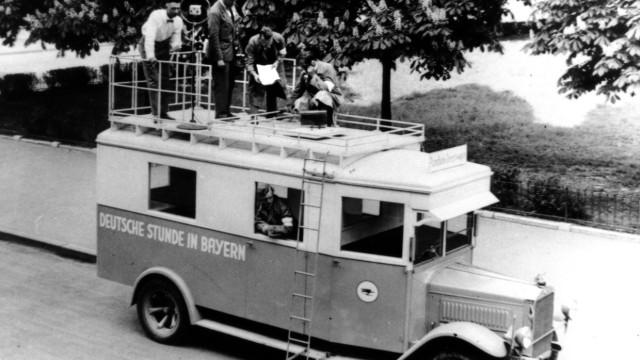 Rundfunkübertragungswagen in Bayern, 1925-1939