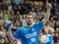Michael Kraus 10 TVB Handball 1 Bundesliga Saison 2018 2019 Fuechse Berlin TVB 1898 Stuttgar