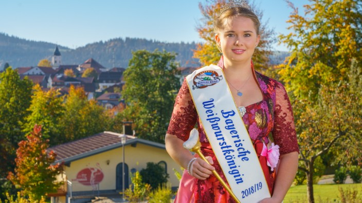 Magdalena Heimann Weißwurstkönigin Lena I.