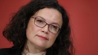 Andrea Nahles SPD Kritiker