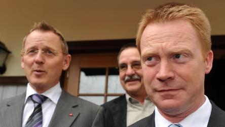 Thüringen Koalition SPD Linke Grüne Bodo Ramelow Christoph Matschie, dpa