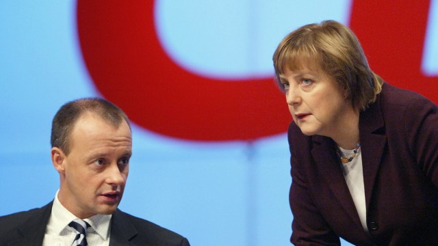 (FILE) Friedrich Merz Emerges As Early Frontrunner To Replace Merkel As CDU Leader