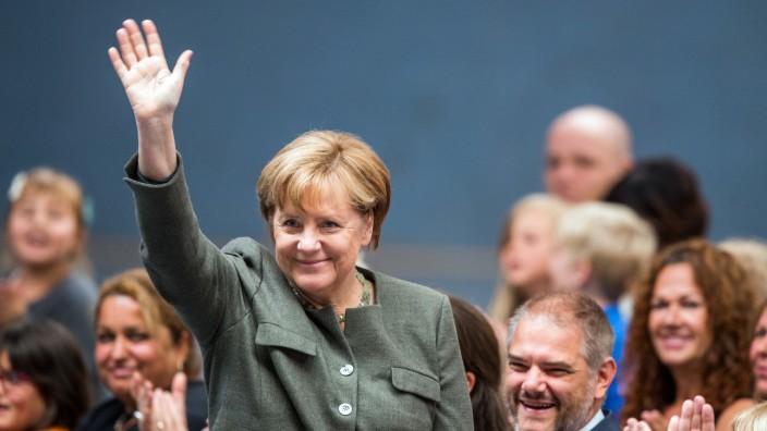 Merkels Wahlkreis