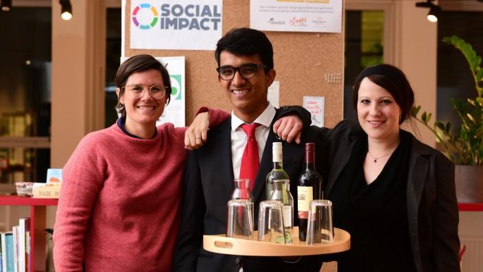 Turning Tables Start-up Flüchtlinge Gastronomie