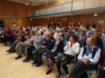 Seniorentag in der Schloßberghalle; Seniorentag in der Schloßberghalle