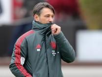 FC Bayern - Niko Kovac auf dem Trainingsplatz
