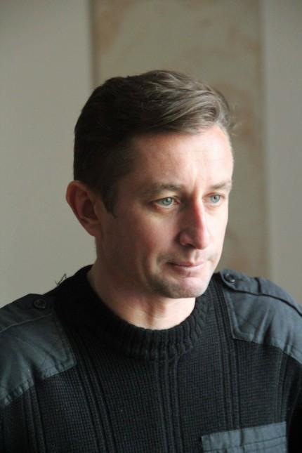 Leader of Kharkov s EuroMaidan activists poet writer Sergey Zhadan PhotoagencyxInterpress PUBLICAT