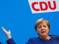 Bundeskanzlerin Angela Merkel (CDU) in Berlin