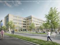 Ruppertstraße Visualisierung BSZ und Kulturzentrum