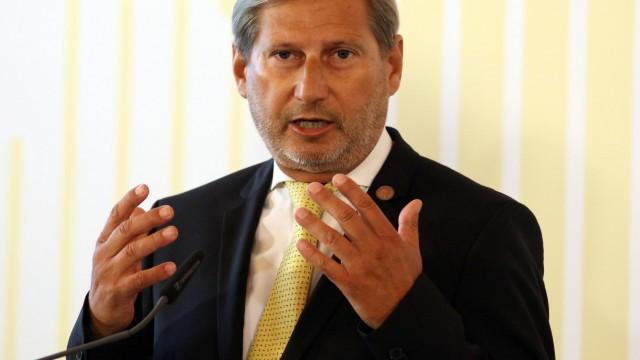EU-Kommissar Johannes Hahn