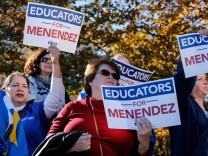 USA: Anhänger der Demokraten in New Jersey
