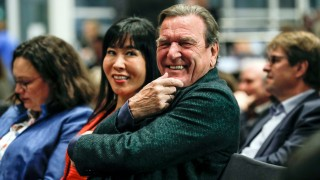 20th anniversary of the election of Gerhard Schroeder as German Chancellor, Berlin, Germany - 05 Nov 2018