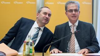 Hubert Aiwanger (links) und Florian Streibl von den Freien Wählern