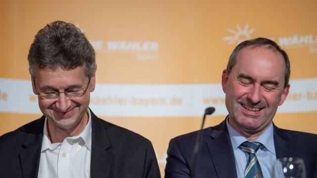 Koalitionsberatung der Freien Wähler in Bayern
