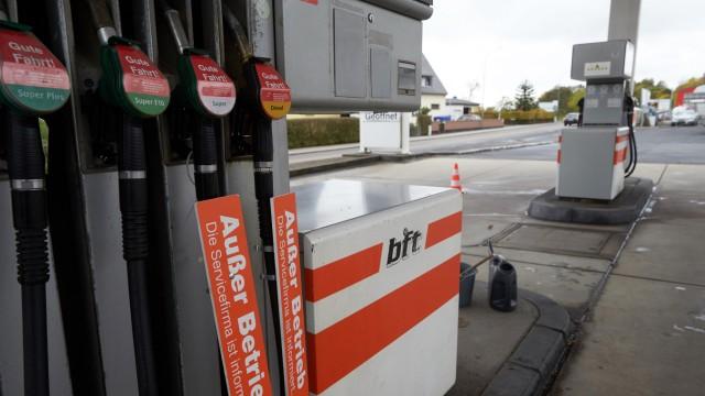 Tankstelle in Hessen