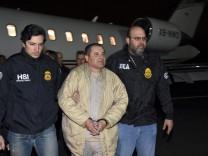 "Prozess gegen Joaquín ´El Chapo"" Guzmán"