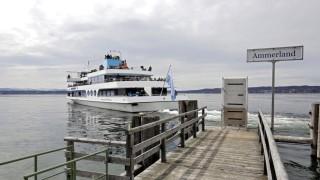 Münsing Schifffahrt auf dem Starnberger See