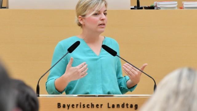 Grünen-Fraktionschefin Katharina Schulze ist zum Urlaub nach San Diego geflogen.