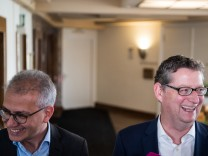 Grüne und SPD führen Sondierungsgespräche