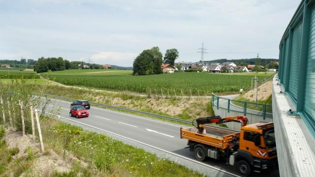 Grafing Engerloh - Lärmschutz Ostumgehung