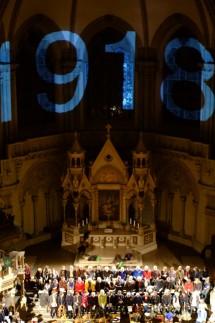 in peace,  großes Chorkonzert in St. Lucas zum Ende des Ersten Weltkriegs