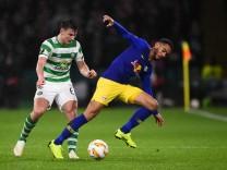 Matheus Cunha von RB Leipzig gegen Celtic Glasgow