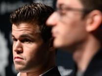 Schach-WM 2018: Magnus Carlsen und Fabiano Caruana