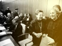 Ursula Lehr 2 v re Deutschland CDU Bundesministerin für Jugend Familie Frauen und Gesundheit n