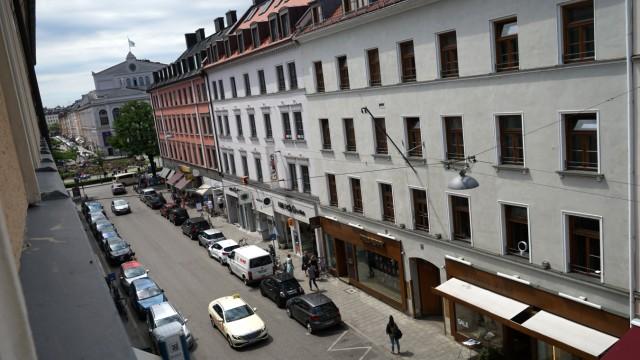 Reichenbachstraße in München, 2018