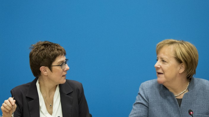 CDU Holds Two-Day Retreat As Candidates Emerge To Succeed Angela Merkel As Party Leader