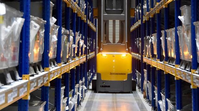 BLG Logistikzentrum für Siemens
