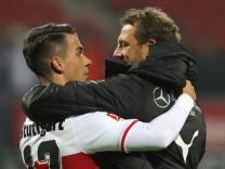 VfB Stuttgart: Erik Thommy und Trainer Makus Weinzierl