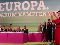 Bundesparteitag von Bündnis 90 Die Grünen Feature Franziska Maria Ska Keller Fraktionsvorsitzende