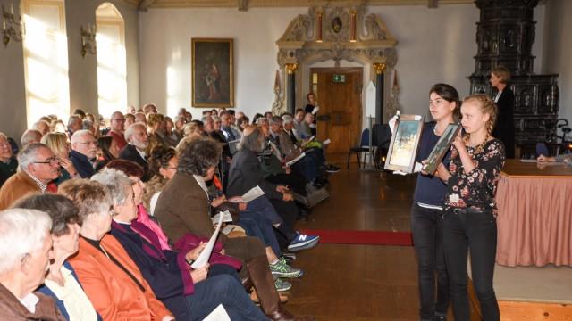 Benediktbeuern Auktion im Kloster